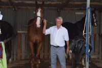 Job & Geoff at Corowa
