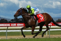 Stacey Lee streets away at Albury 2012